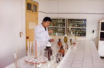 化学分析现场