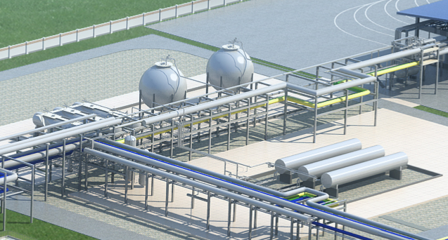 我国最大LNG项目--中石油黄冈LNG